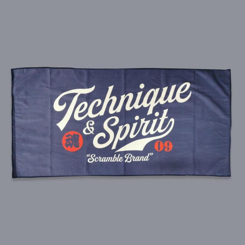 Scramble Technique and Spirit Waffle Towel