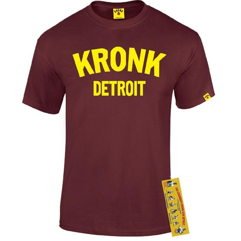 Kronk Detroit T-Shirt Maroon