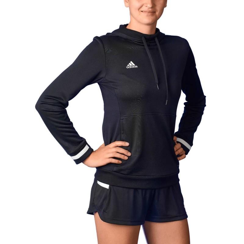 Adidas T19 Hoody Women Black White DW6872 günstig kaufen