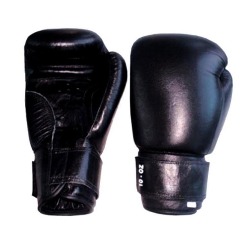Top Modell Boxhandschuhe Leder Schwarz