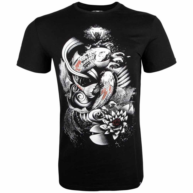 Abverkauf Venum Koi 2.0 T-Shirt Black White