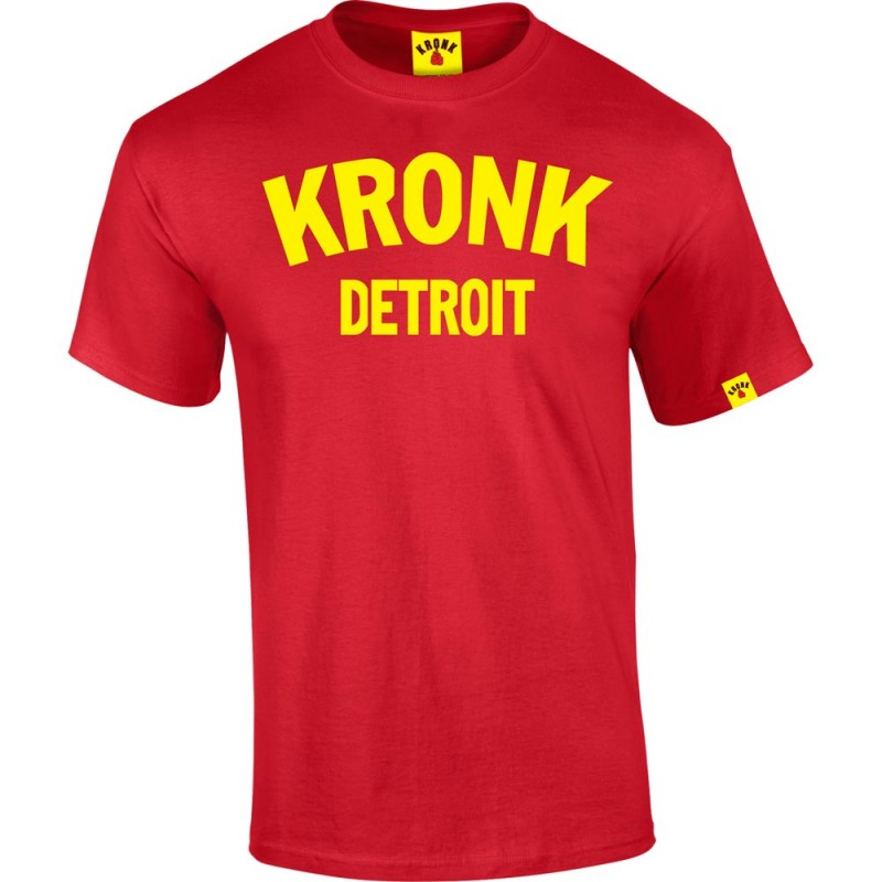 Kronk Detroit T-Shirt Red