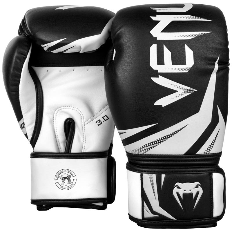 Venum Challenger 3.0 Boxing Gloves Black White