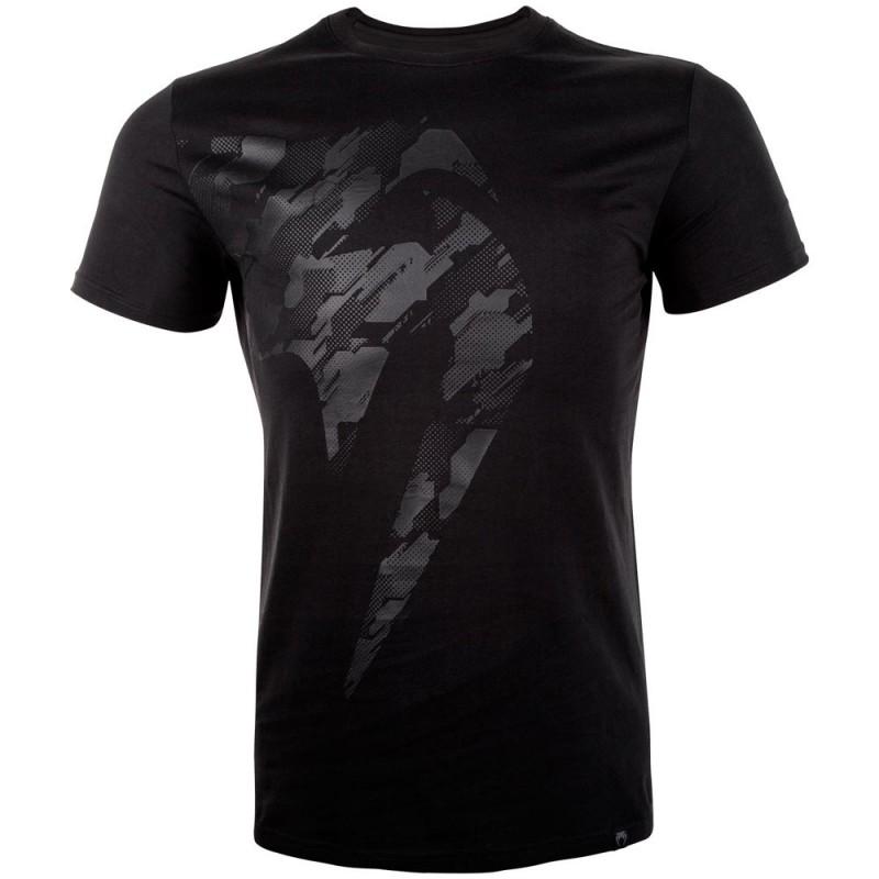 Venum Tecmo Giant T-Shirt Black Black