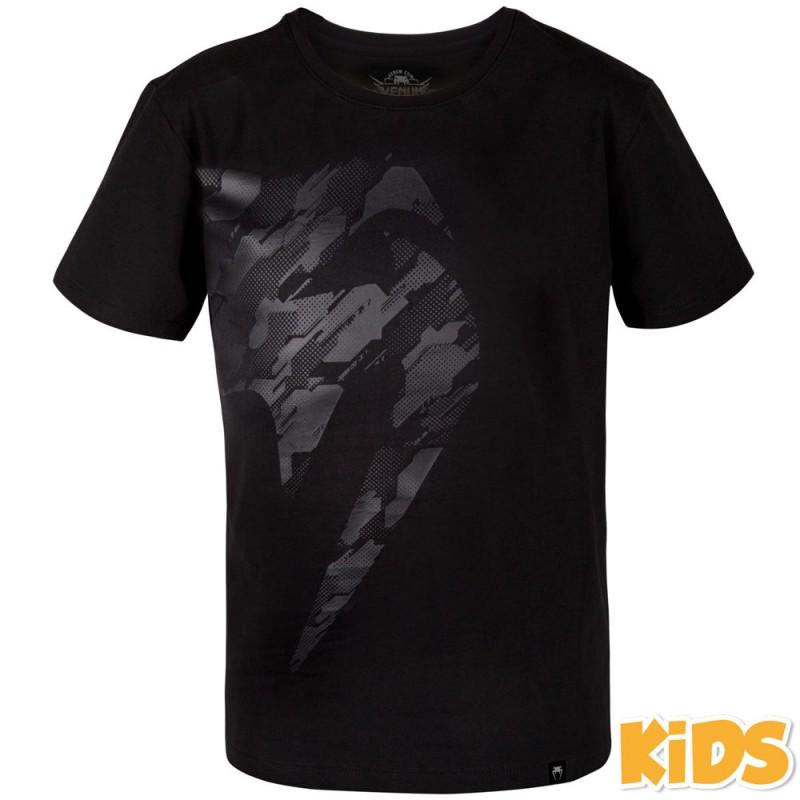 Venum Tecmo Giant Kids T-Shirt Black Khaki