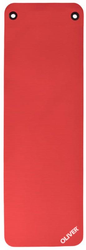 Oliver Gymnastikmatte Mit Ösen 180cm Rot