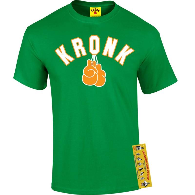 Kronk Gloves T-Shirt Irish Green