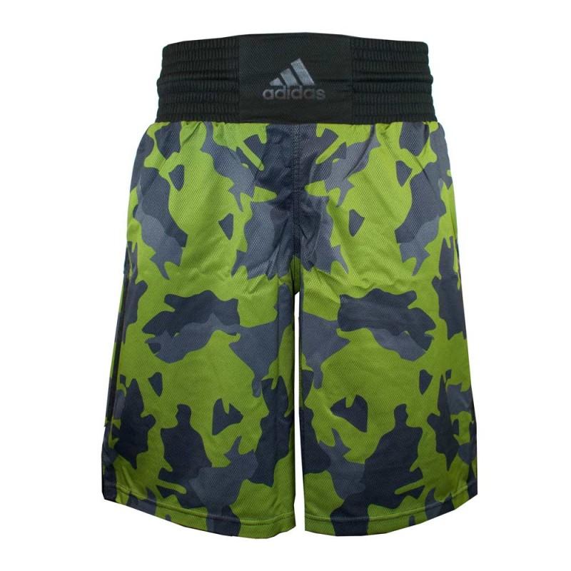Adidas Multiboxing Fightshort Camo Green Black