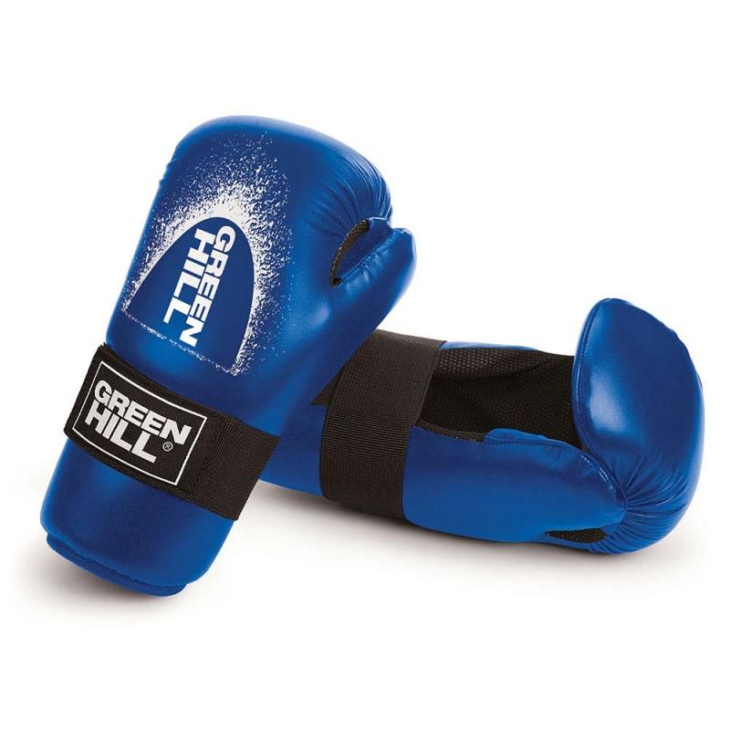 Green Hill Semi Contact Gloves Blau