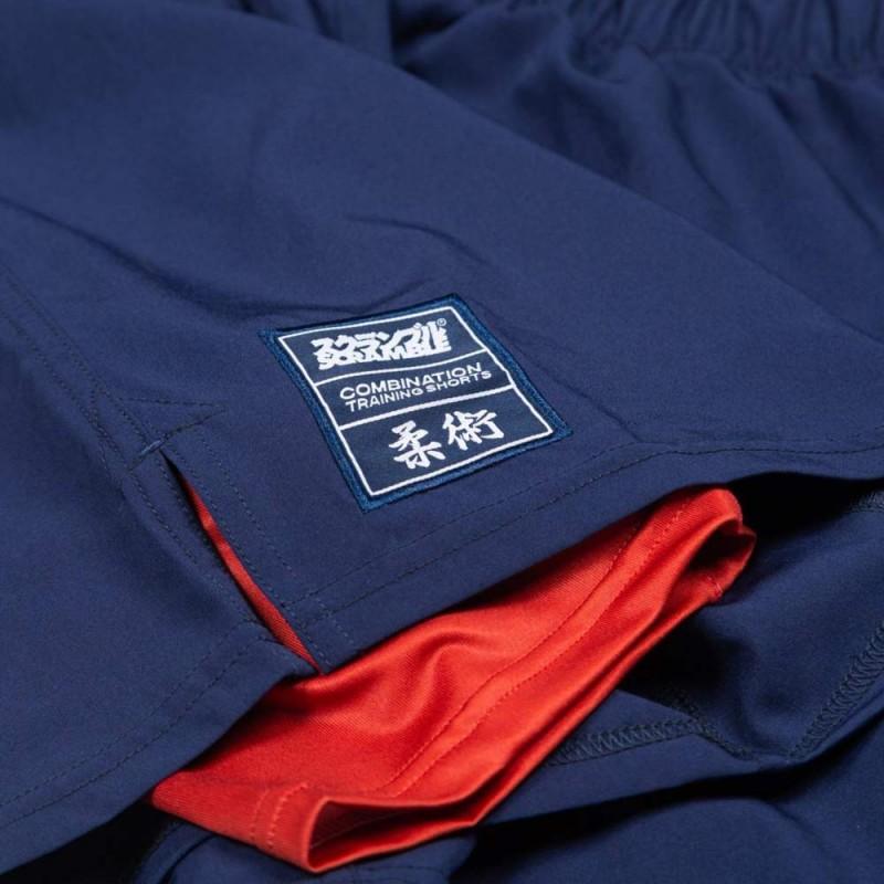Scramble Combination Shorts blau rot