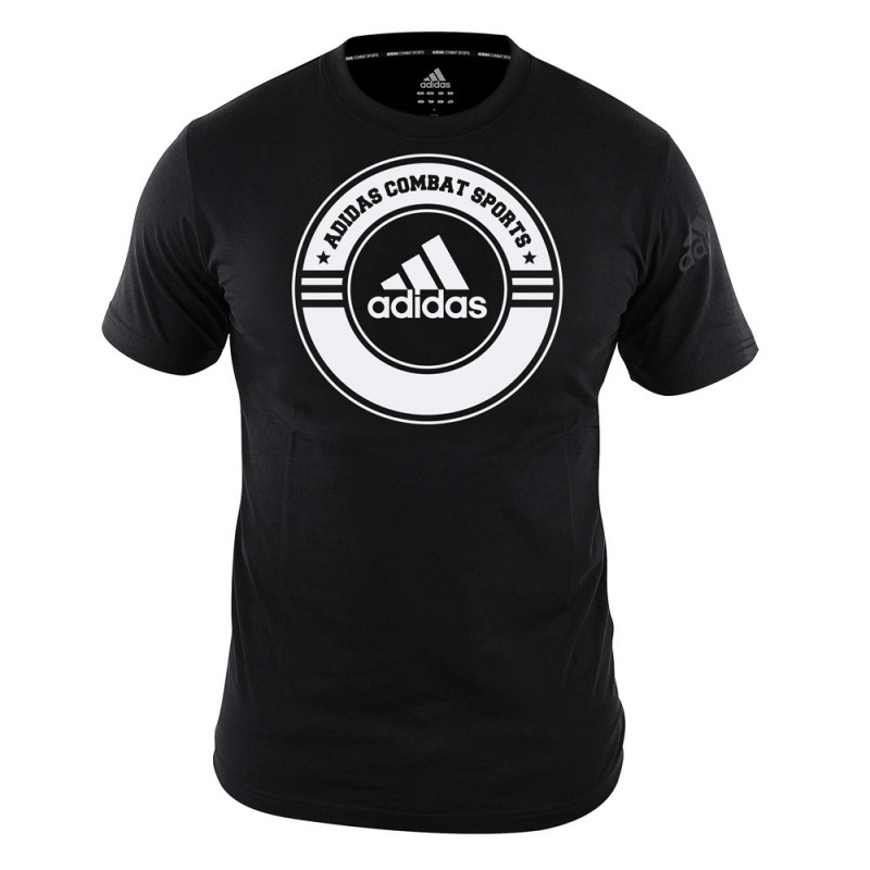 Adidas Combat Sports T-Shirt Black White
