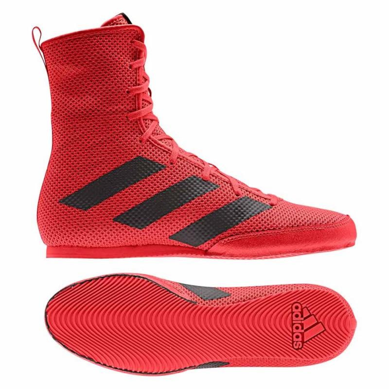 Adidas Box Hog 3 Boxstiefel Red Black F99922