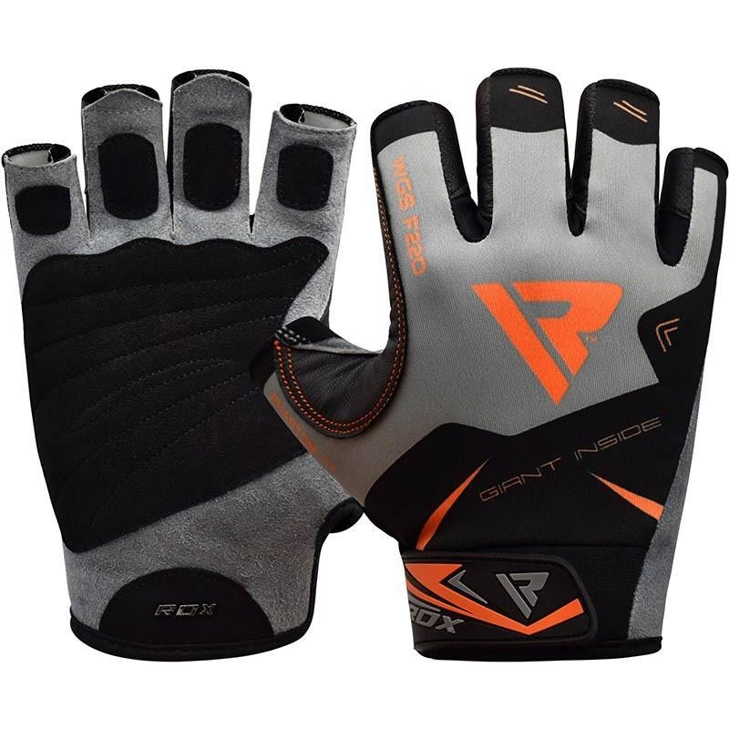 RDX Gym Handschuh F22 orange