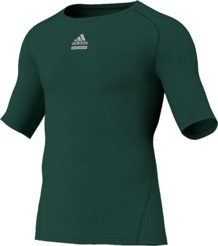 Abverkauf Sonderposten Adidas TechFit CS SS Grün