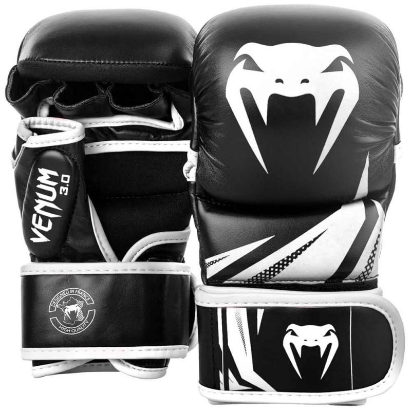 Venum Challenger 3.0 Sparring Gloves Black White