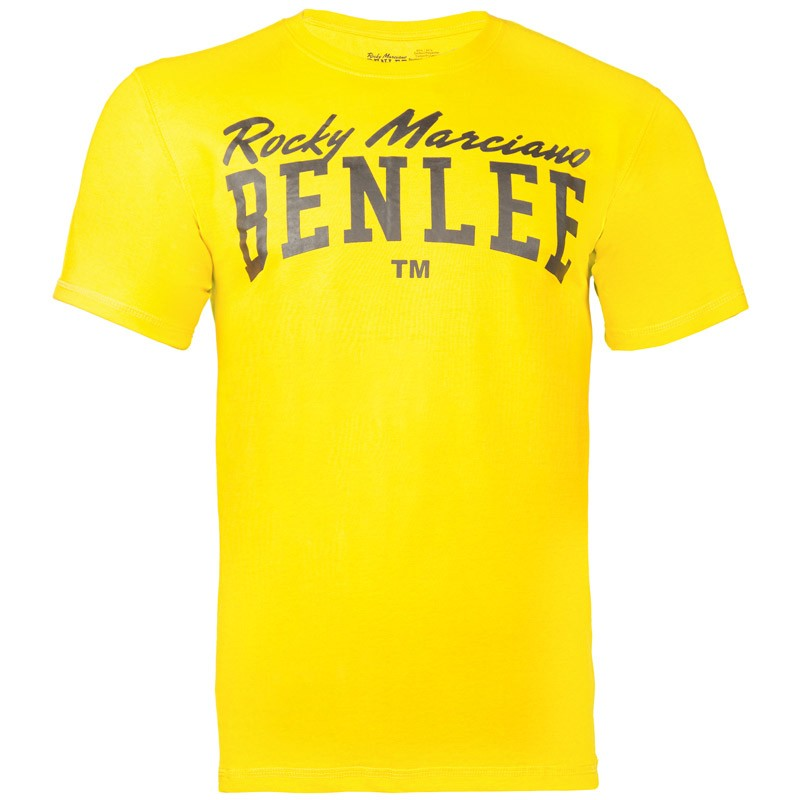 Benlee Logo Promo Regular Fit Shirt Warm Yellow
