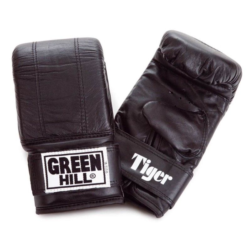 Green Hill Tiger Punching Mitts Schwarz