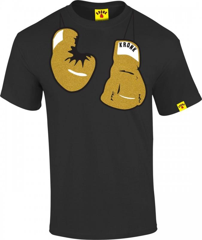 Kronk Hanging Gloves T-Shirt Black
