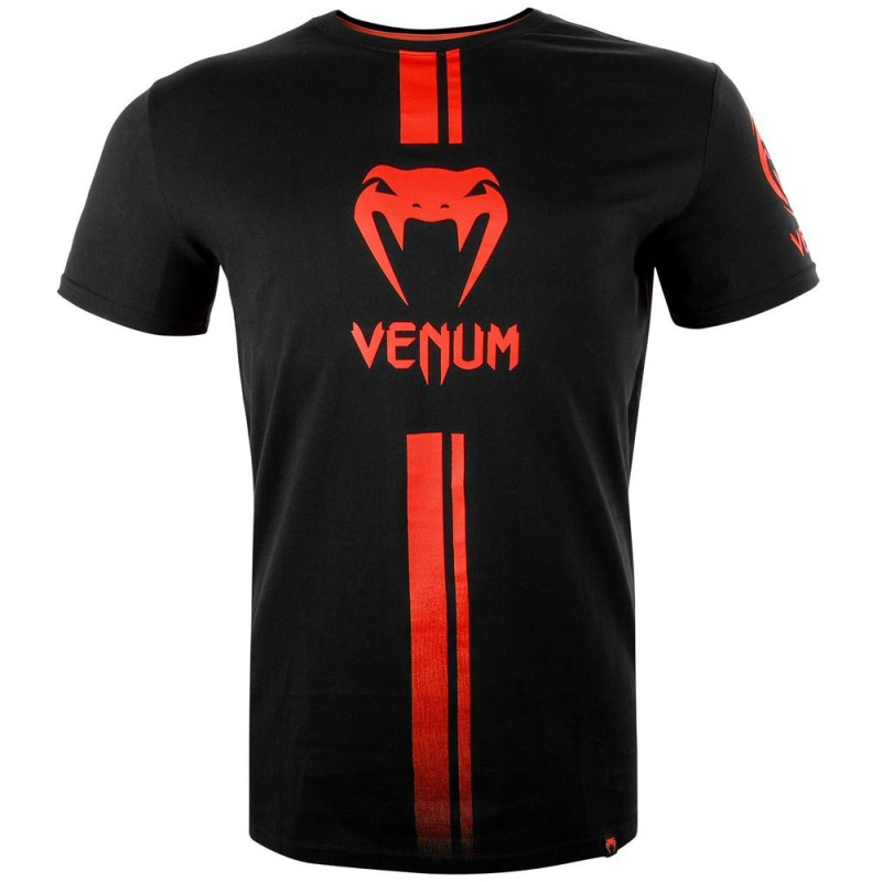 Venum Logos T-Shirt black red