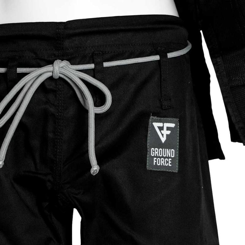 Ground Force Basic BJJ Gi Black