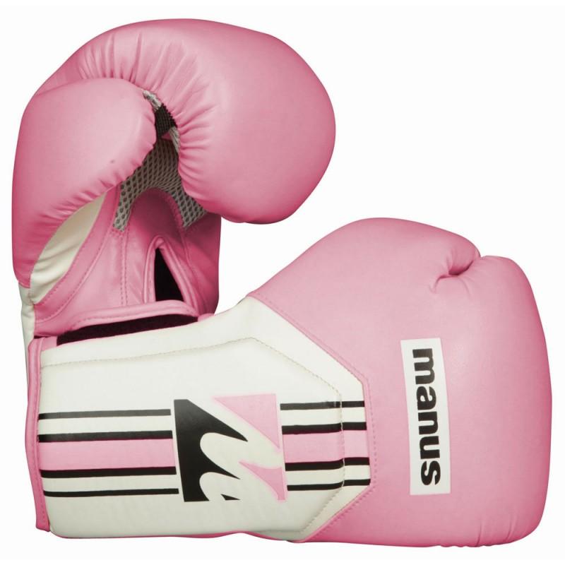 Manus Cool Boxhandschuhe Pink Weiss