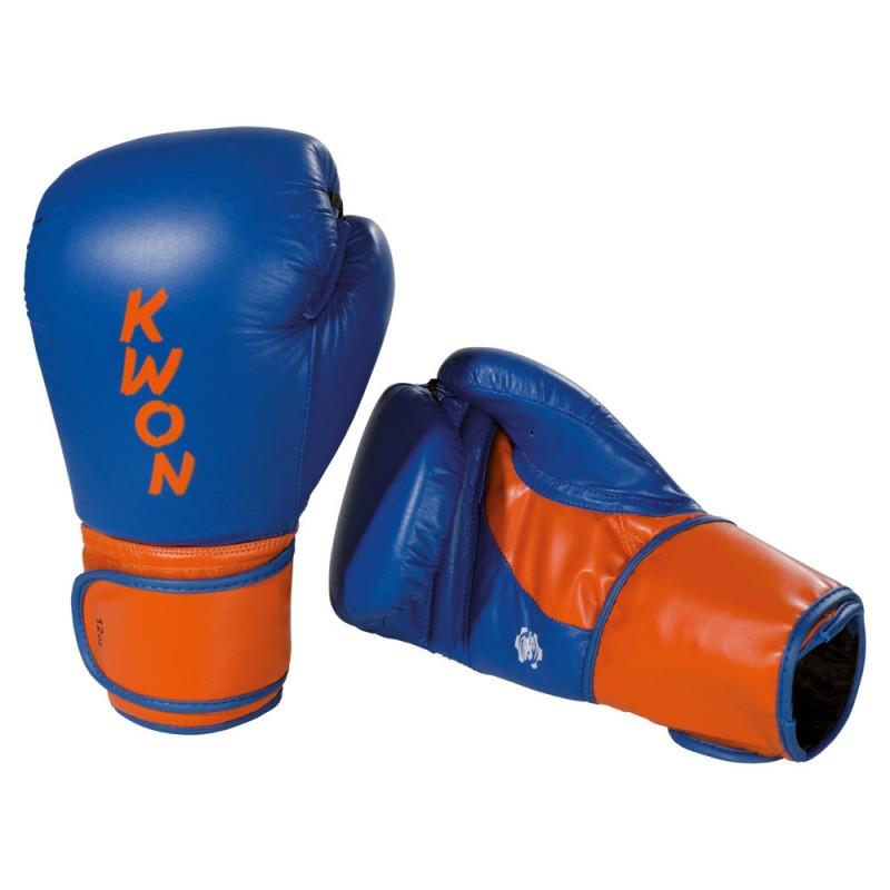 kwon super champ boxhandschuhe blau orange g nstig kaufen. Black Bedroom Furniture Sets. Home Design Ideas
