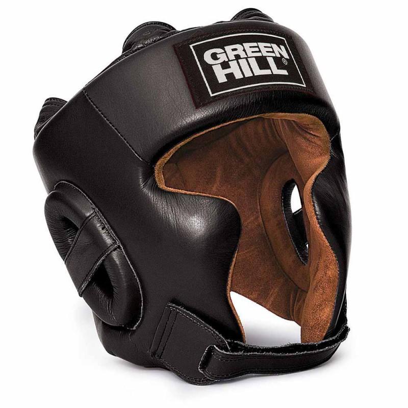 Green Hill Spartan Kopfschutz Schwarz