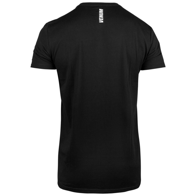 Venum VT T-Shirt Jiu Jitsu Black White