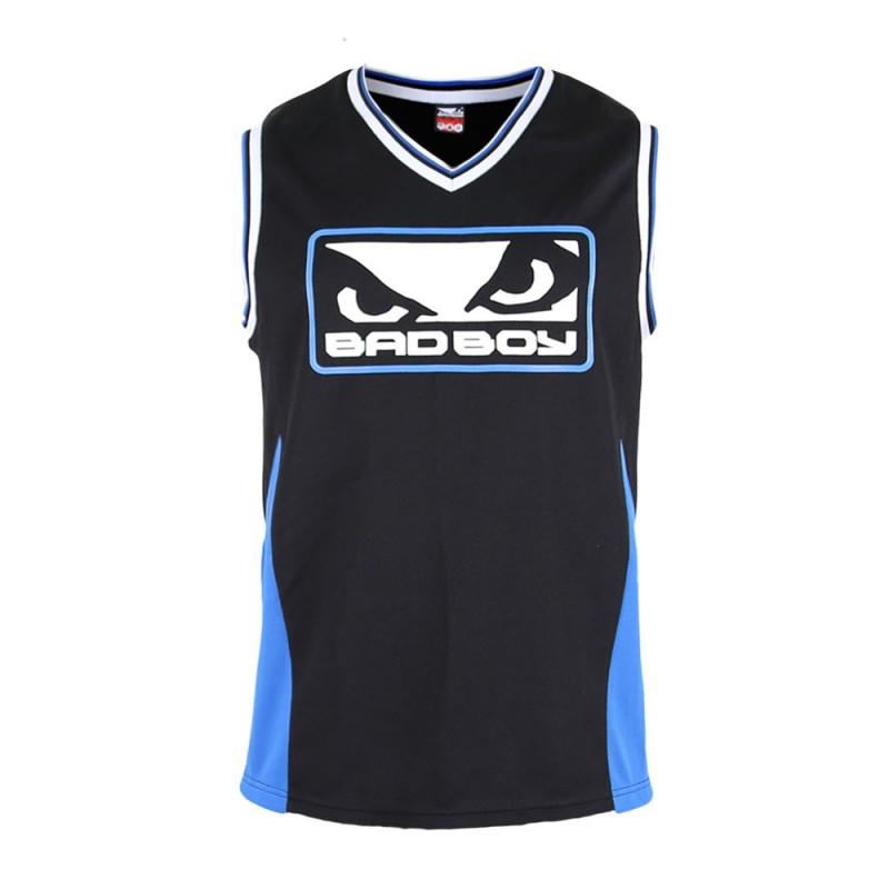 Abverkauf Bad Boy Icon Jersey T-Shirt SL Black Blue