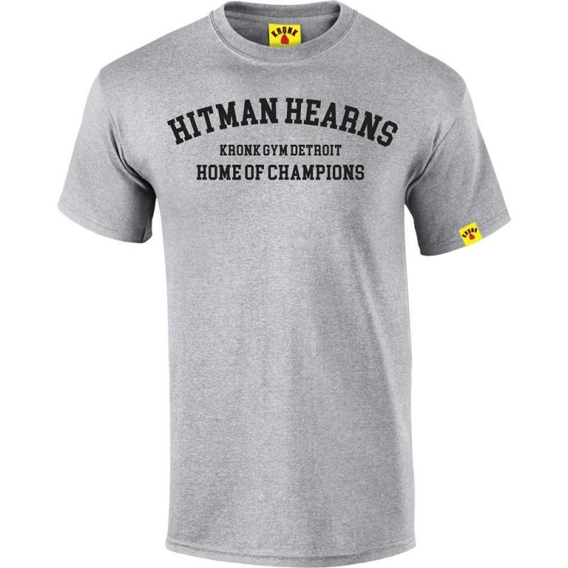 Kronk Boxing Hitman Hearns T-Shirt Sport Grey