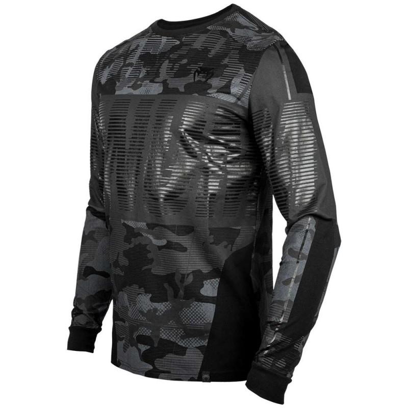 Venum Tactical T-Shirt LS Urban Black Camo
