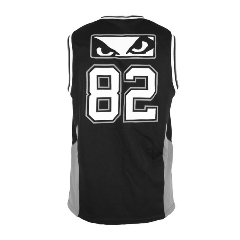 Abverkauf Bad Boy Icon Jersey T-Shirt SL Black Grey