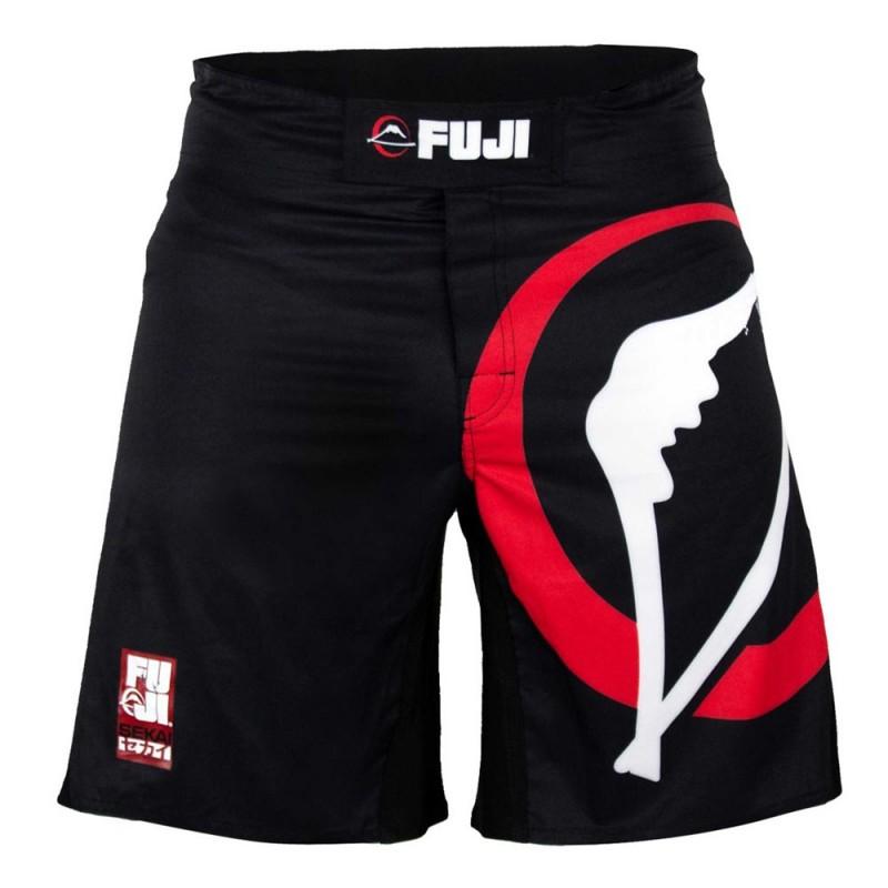 Fuji Sekai 2.0 IBJJF Fightshort Black red