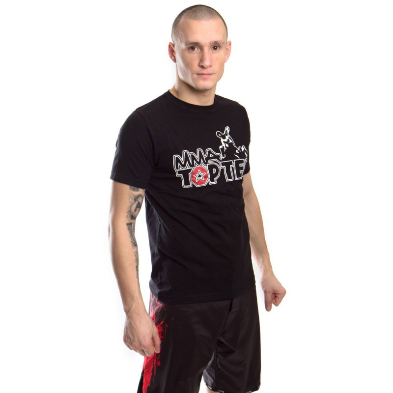 Top Ten MMA Promo T-Shirt Schwarz