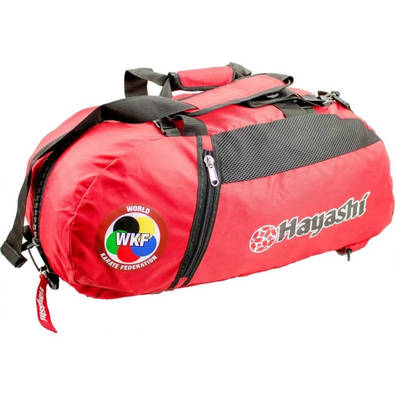 Hayashi WKF Rucksack Tasche 55cm Rot