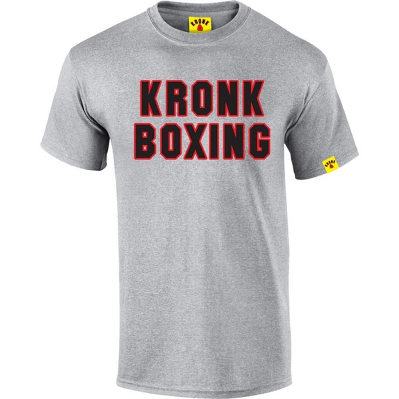 Kronk Boxing Classic T-Shirt Sport Grey