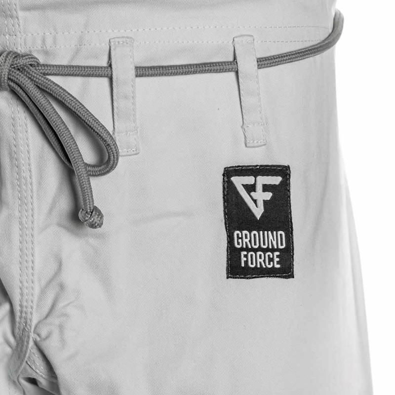 Ground Force Basic BJJ Gi White