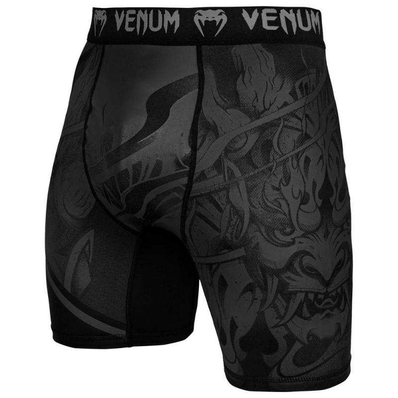 Venum Devil Compression Shorts Black Black