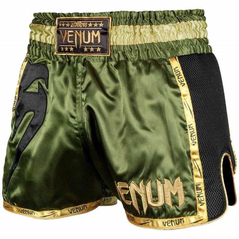 Venum Giant Muay Thai Shorts Khaki Black günstig kaufen