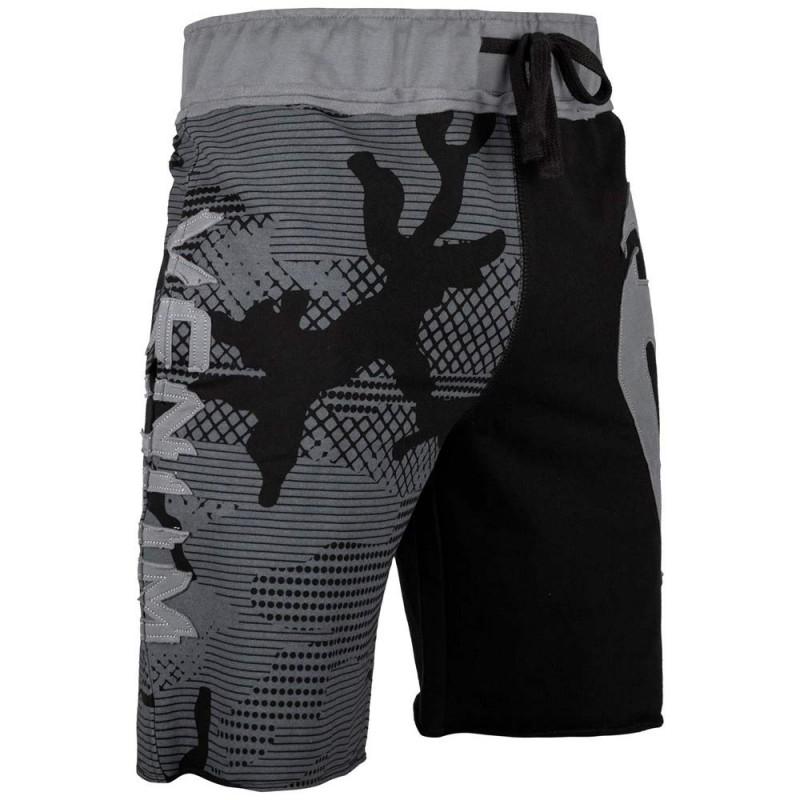 Venum Assault Cotton Shorts Grey Black
