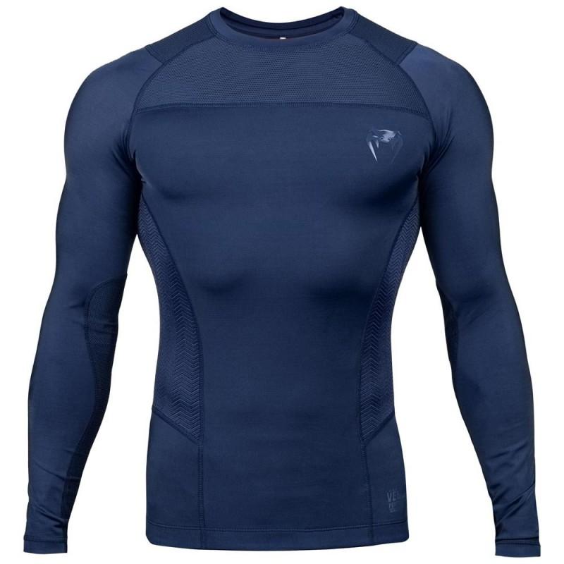 Venum G-Fit Rashguard LS Blue