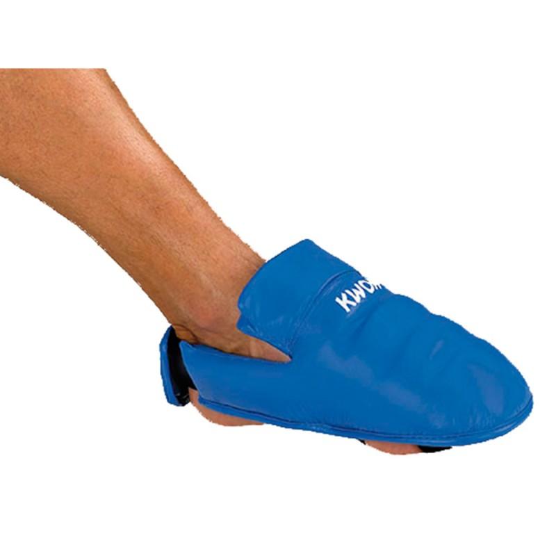 Kwon Karate Fussschutz Blau