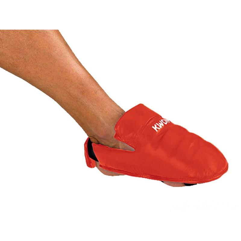 Kwon Karate Fussschutz Rot