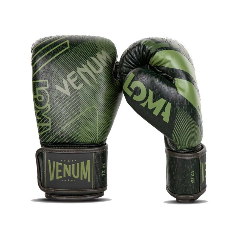 Venum Commando Boxing Gloves Loma Edition Khaki