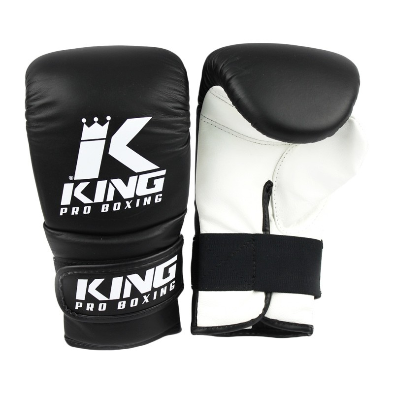 King Pro Boxing Bag Glove Leather