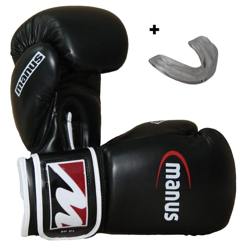 Manus Box Starterset Boxhandschuhe und Zahnschutz