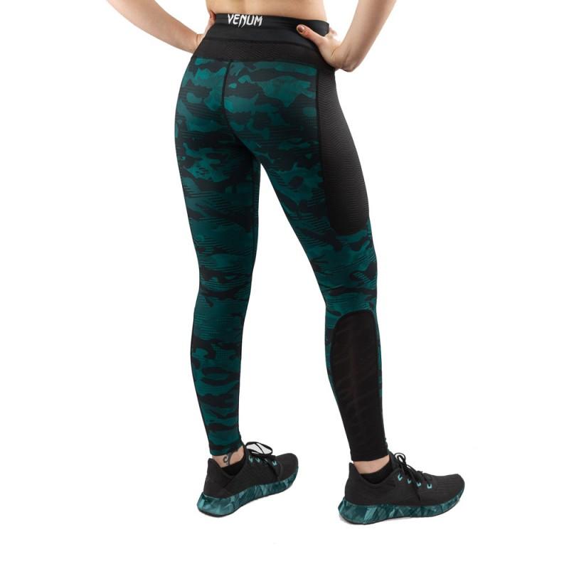 Venum Defender Leggings schwarz grün