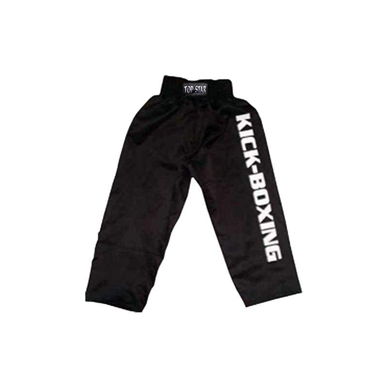 Kickboxing Kickboxhose Schwarz