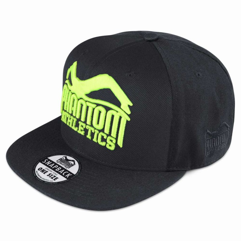 Phantom Athletics Cap Team Black Neon