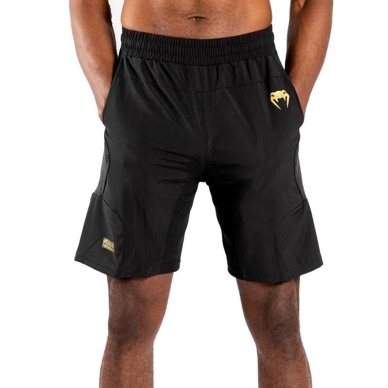 Venum G-Fit Training Short schwarz gold